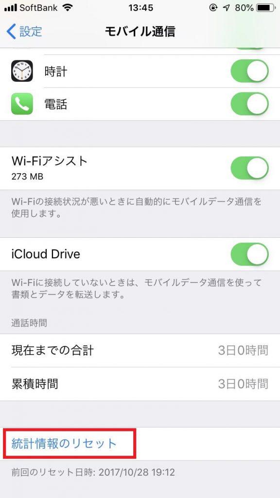iPhoneモバイル通信
