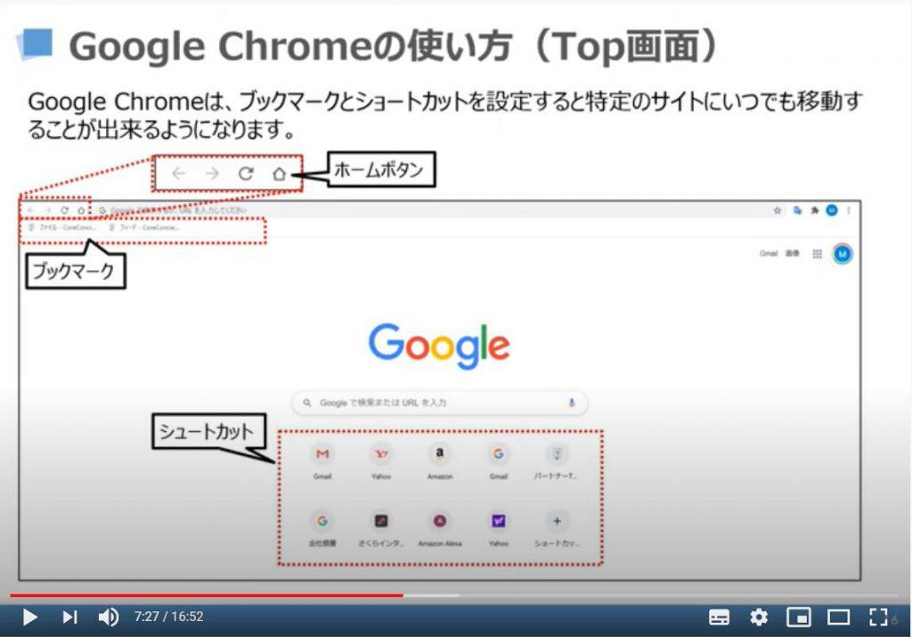 Google Chrome(Top画面)