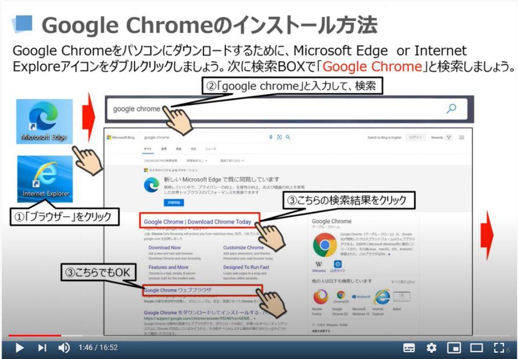 Chrome(クローム)のインストール方法