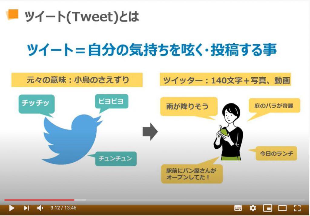 Twitter(ツイッター)の使い方:ツイートとは