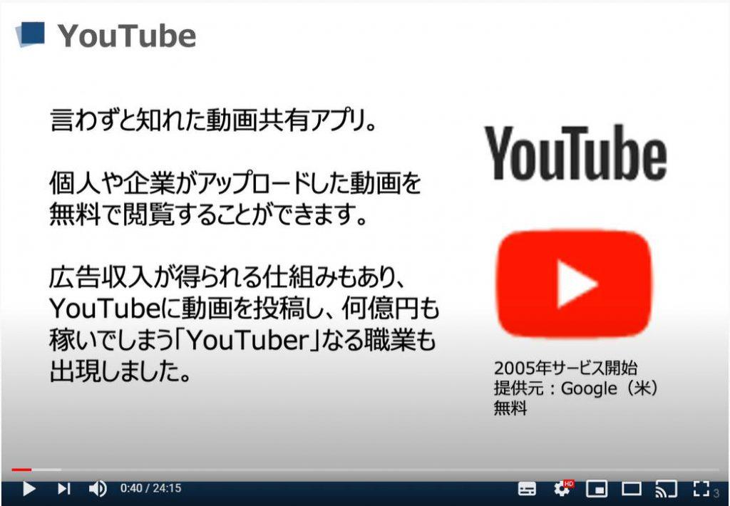 YouTube(ユーチューブ)とは
