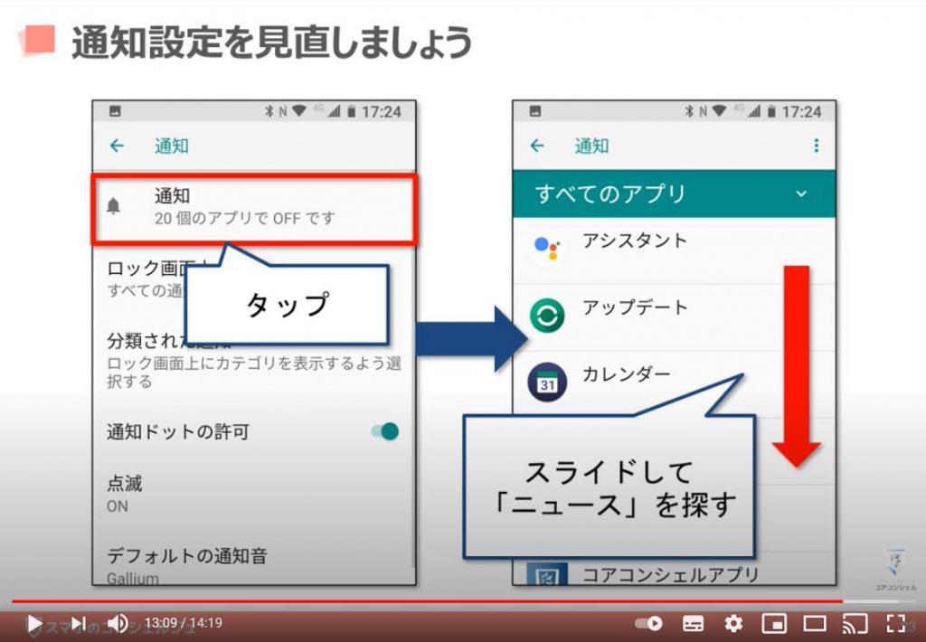 Yahoo(ヤフー)ニュースの使い方:通知設定の確認・変更方法