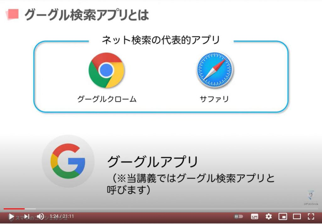 Google(グーグル)アプリの使い方:Google(グーグル)アプリとは