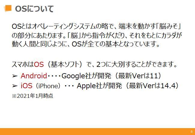 初級コース:端末OSとは