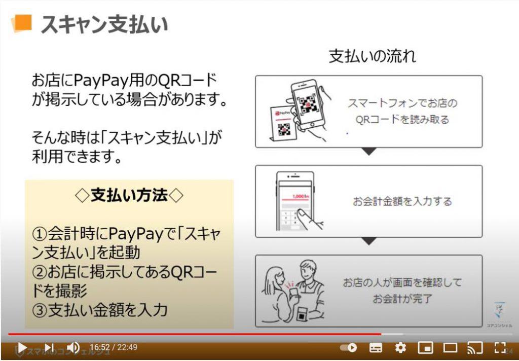Paypay(ペイペイ)の使い方:PayPay(ペイペイ)でのスキャン支払い