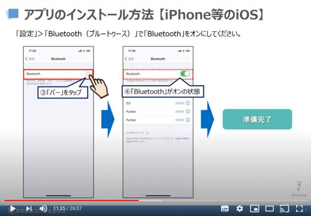 Coke ON(コークオン)の使い方:Coke ON(コークオン)のインストール方法(iPhone等のiOS端末の場合)