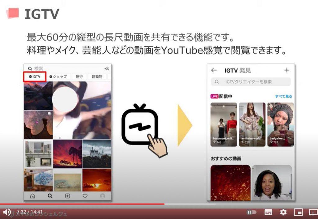 インスタの使い方:IGTVとは