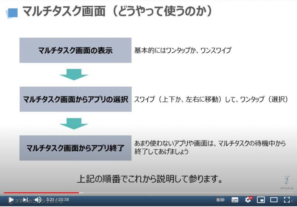 マルチタスク画面の表示方法 アプリの切替方法 アプリスイッチャーについて解説:マルチタスク画面とはどのように使うのか