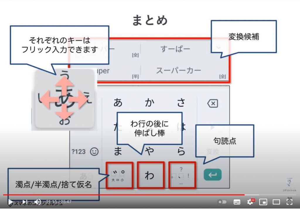 【文字入力・キーボード】Gboardの使い方を丁寧に解説:日本語入力(まとめ)