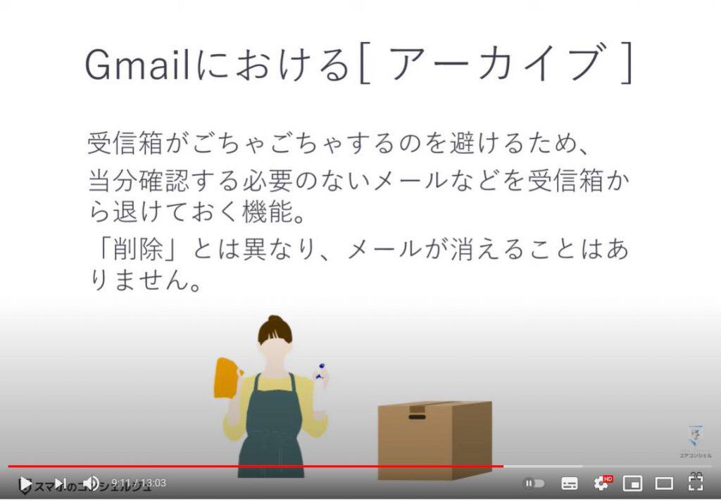 メールが見当たらない場合の3パターンと対処方法:アーカイブされている場合