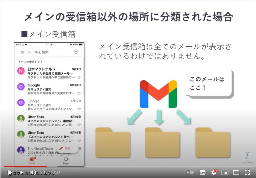 メールが見当たらない場合の3パターンと対処方法:メインの受信箱以外に分類