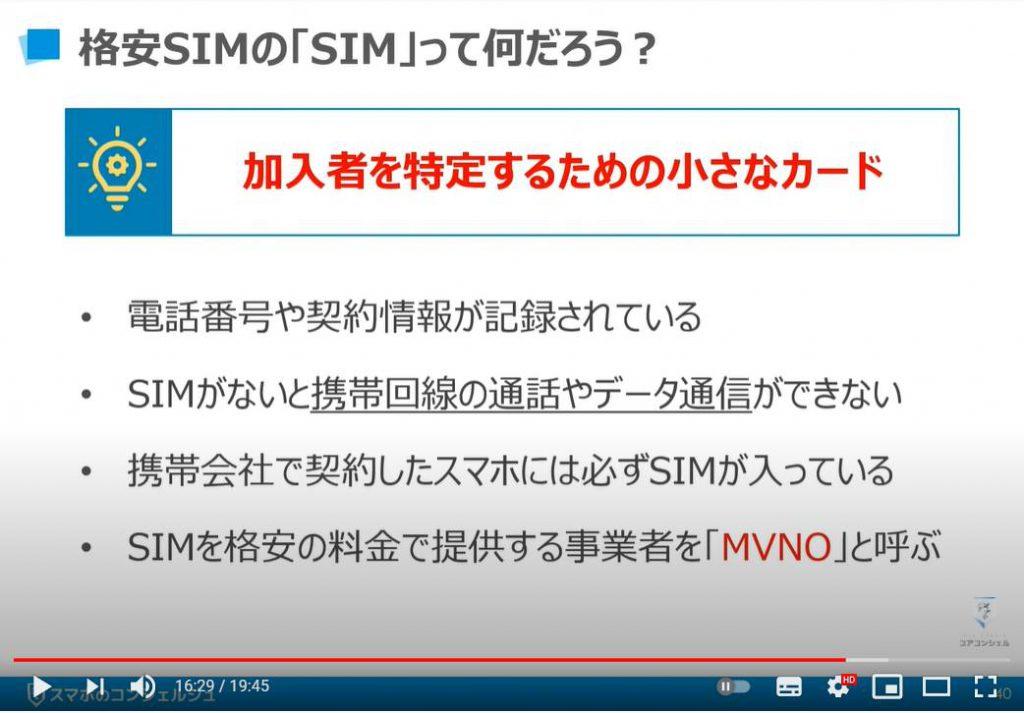 質問の多いスマホ用語について丁寧に解説:格安SIMのSIMって何だろう