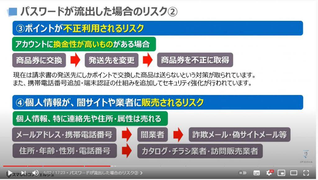 パスワードはたったの3通りで十分な理由(パスワードの正しい決め方と管理方法):パスワードが流出した場合のリスク