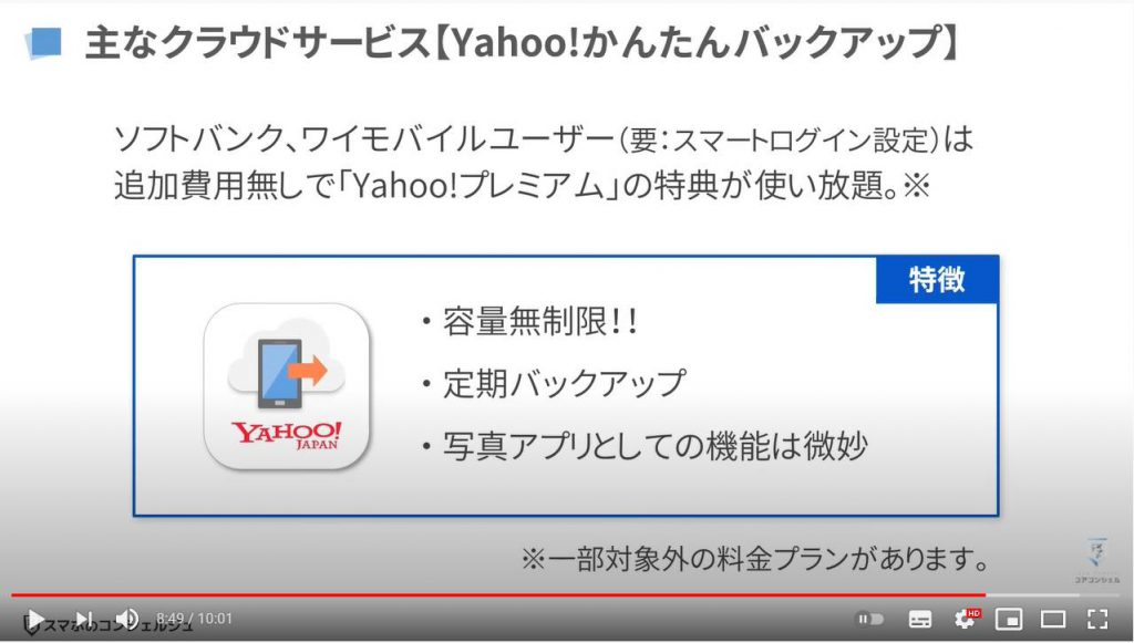 【検証報告】Googleアカウントの無料ストレージ15GBを使い切ってみる:有料サービスの検討(Yahoo!かんたんバックアップ)