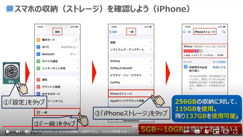 スマホの基本15選:スマホの収納には限界がある(iPhone)