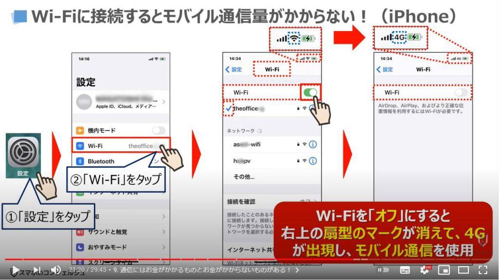 スマホの基本15選:Wi-Fiに接続する方法(iPhone)